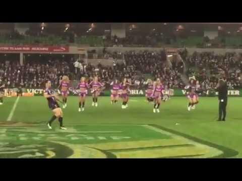Melbourne Storm Cheerleaders 2015 Prelim