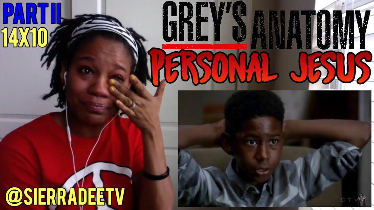 Download Grey's Anatomy *Personal Jesus* 14x10 - PART II - Reaction!