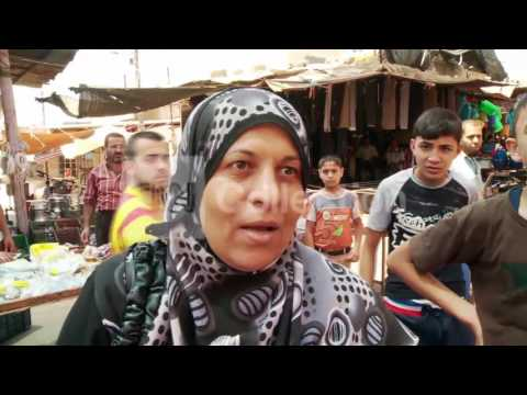 MIDEAST:GAZA CITY STREETS DURING CEASE FIRE