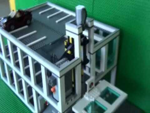 Lego Multistory Car Park Moc My Own Creation Youtube