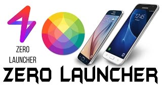 Zero  Launcher | Customize Your phone With 3D Themes screenshot 2