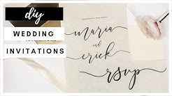 Affordable Wedding Invitations I Wedding Diaries 01