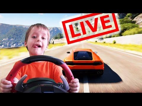 играю в Forza Horizon 2 на руле Ferrari - блог Ильи
