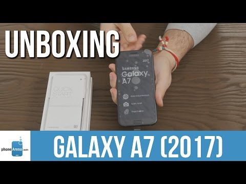 Samsung Galaxy A7 (2017) unboxing