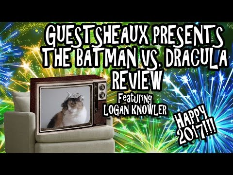 Guestsheaux Presents - The Batman VS. Dracula Review by Logan Knowler
