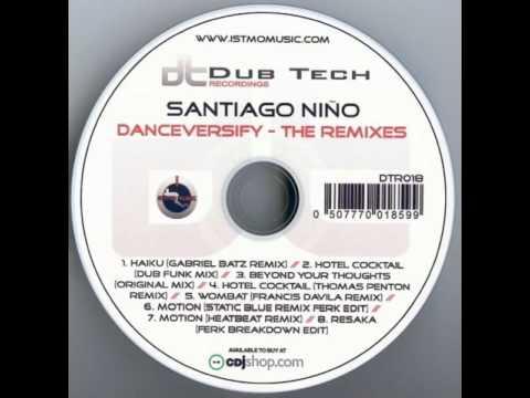 Santiago Niño - Haiku (Gabriel Batz Remix)