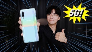 성능 대박인 5G 스마트폰이 가격까지 합리적이라면?! [갤럭시 A90 5G 언빡싱!]