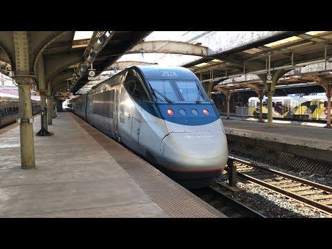 Amtrak Northeast Corridor Trains @ Baltimore Penn Station (3/9/20)