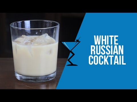 White Russian Cocktail - How to make a White Russian Cocktail Recipe by Drink Lab (Popular)
