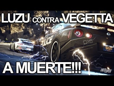 LUZU CONTRA VEGETTA A MUERTE!! Need For Speed Rivals PS4 - [LuzuGames]