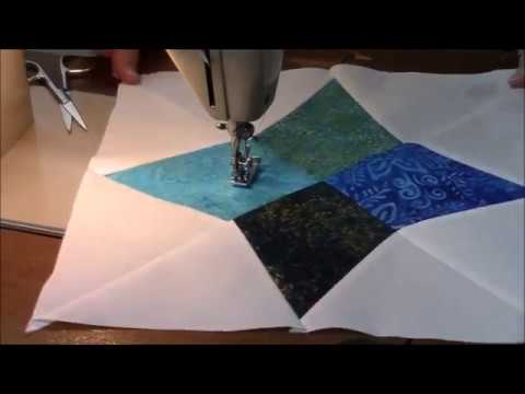 Piecing a Quilt on a Singer 239