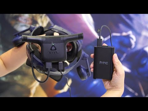 Hands-On with HTC Vive Wireless Adapter!