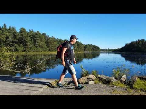 """Jag testade """"nya"""" Vildmarksleden mellan Hindås och Skatås, 4,2 mil"""