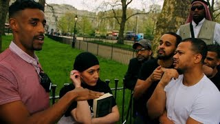 A Muslim Woman Indirectly Condemns The Quran | Daniel | Speakers Corner