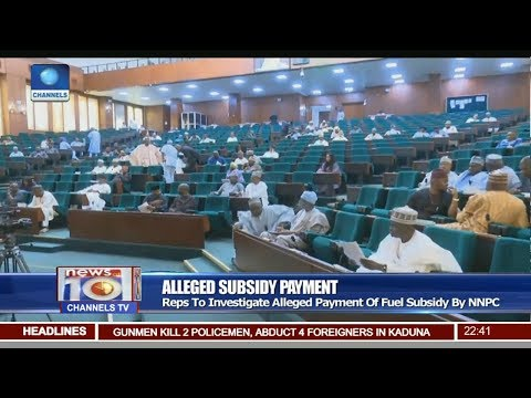 Reps To Investigate Alleged Payment Of Fuel Subsidy By NNPC Pt 3 | News@10 |