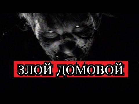 Страшная история - ЗЛОЙ ДОМОВОЙ