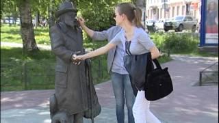 02 06 14 памятник Степану Писахову(, 2014-06-24T12:36:04.000Z)