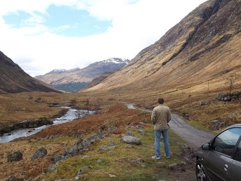 Glen Etive (Skyfall) to Loch Lomond - Timelapse Drive ...