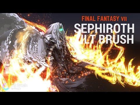 Sephiroth (Final Fantasy VII) - Tilt Brush - VR Painting