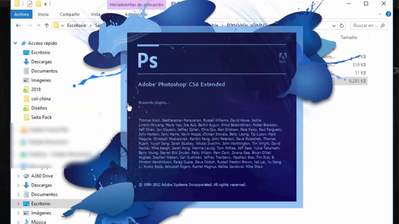 Photoshop CS6 Portable [2017]