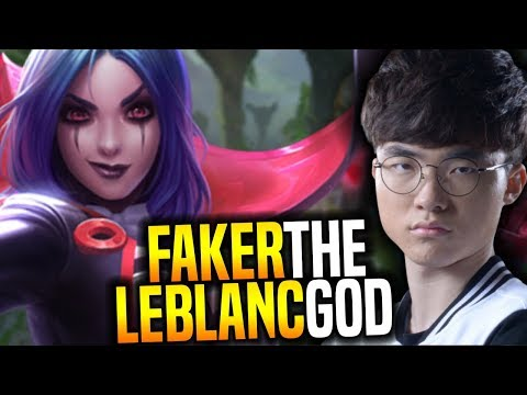 Faker Showing The Power of His Main! - SKT T1 Faker SoloQ Playing Leblanc Midlane! | SKT T1 Replays