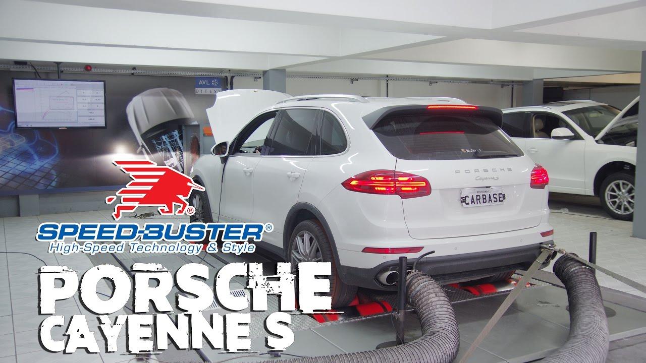 CARBASE - Porsche Cayenne S 3.6 | Tuning Box Speed-Buster | Filtro de Ar BMC