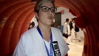 Visite de l'intérieur d'un colon : le Colon Tour à Bourgoin-Jallieu
