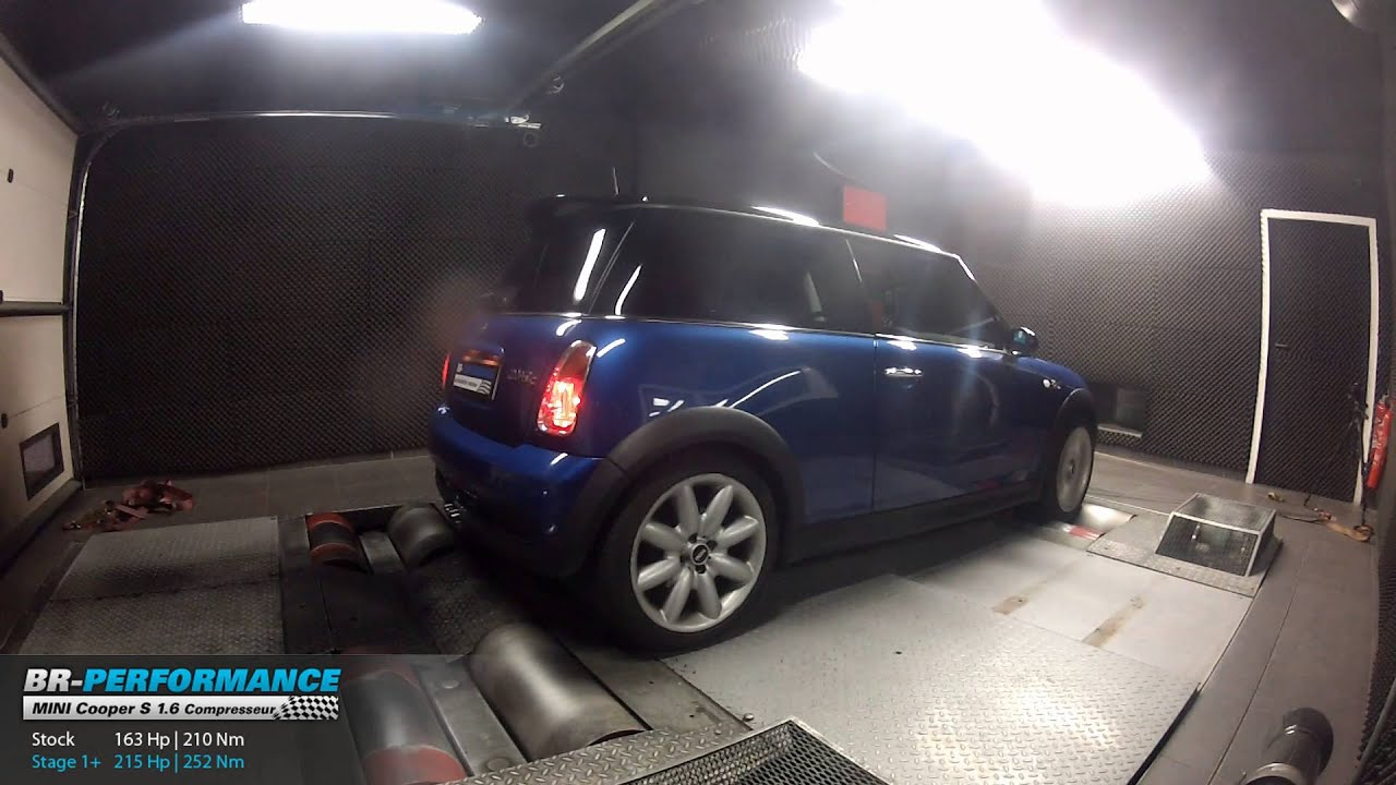 reprogrammation moteur mini cooper s r53 1 6 compresseur 163hp 215hp par br performance youtube. Black Bedroom Furniture Sets. Home Design Ideas