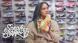 Billie Eilish Goes Sneaker Shopping With...