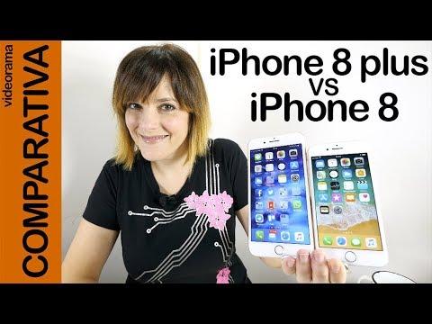 iPhone 8 vs iPhone 8 plus -COMPARATIVA entre hermanos-