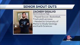 Senior Shout Outs: Whitman Hanson, North Andover High, Ashland High