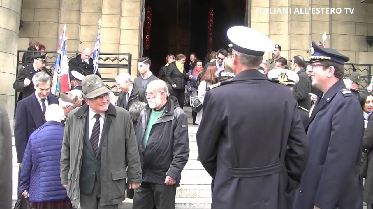Commemorazione Parigi Unità d'Italia - Forze Armate - Milite Ignoto - ITALIANI ALL'ESTERO TV