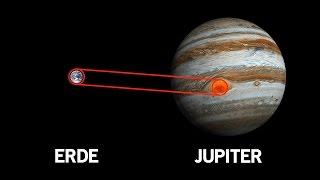 Die 10 Unglaublichsten Fakten über den Jupiter!