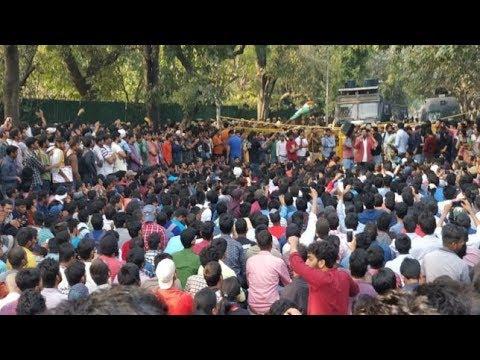 SSC Paper Leak Issue  Students Protest In Allahabad, Uttar Pradesh BBC Hindi