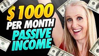 5 Passive Income Ideas (that earn $1000+ per month)