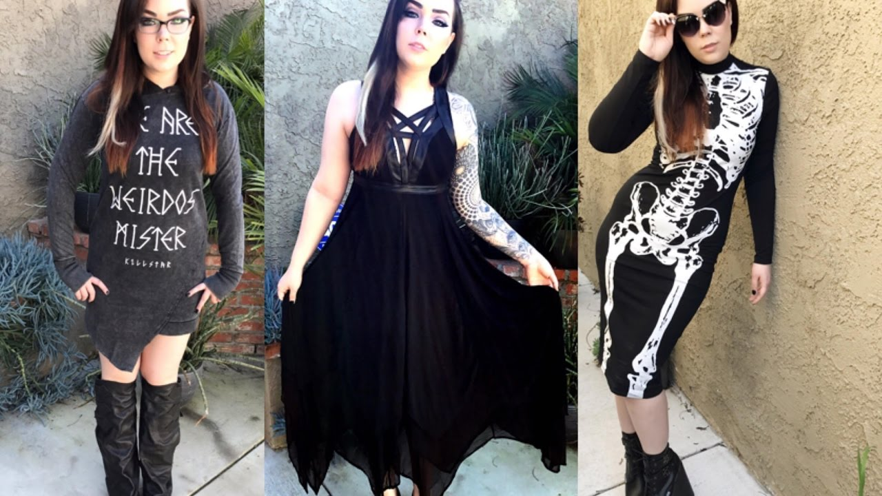 Summer Festival Goth Wear 3 Outfits 1 Video Featuring Killstar