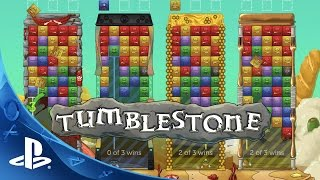 Tumblestone - Gameplay Trailer | PS4, PS3, PSVita