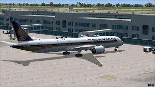 【LIVE】FSX SINGAPORE AIRLINES B78X TPE-SIN 新加坡航空 台北-新加坡  SQ505 #3
