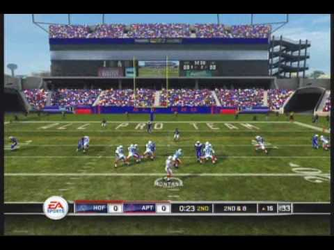 Madden 10 HOF 75th Anniversary Team vs 2010 All Pro Team