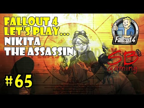 Fallout 4 Survival Let's Play - Nikita the Assassin - Looking for Virgil in the Glowing Sea - P65
