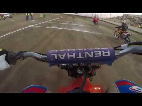 Ventura Raceway XR100 Flat Track Steve Souisa 100cc to 125cc Semi #1