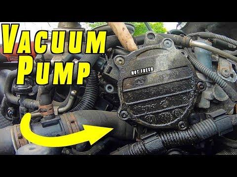 How To Replace or Reseal Brake Vacuum Pump - YouTube