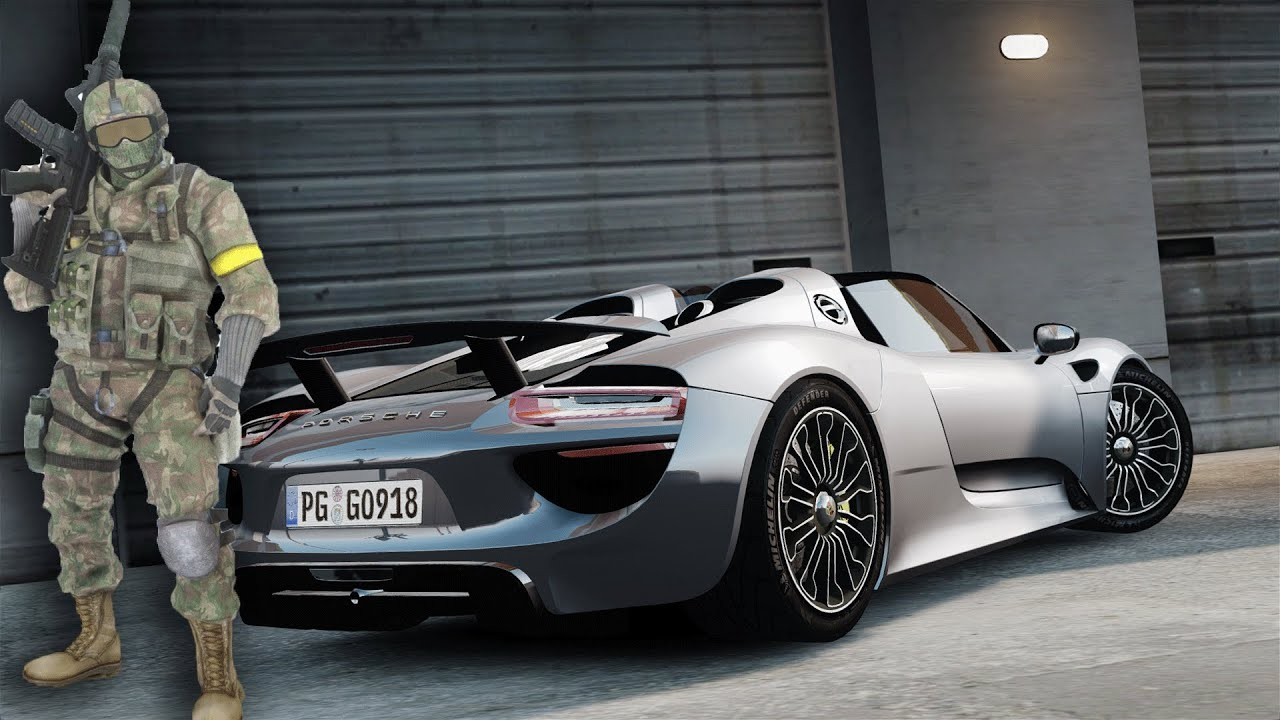 gta iv 2015 porsche 918 spyder sound mod playerped youtube. Black Bedroom Furniture Sets. Home Design Ideas