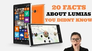 20 FACTS ABOUT LUMIAS YOU DIDNT KNOW!