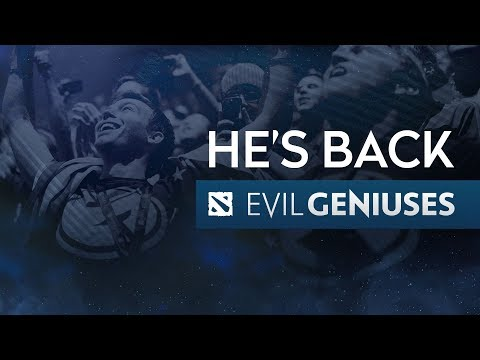 He's Back - An EG Dota Roster Update