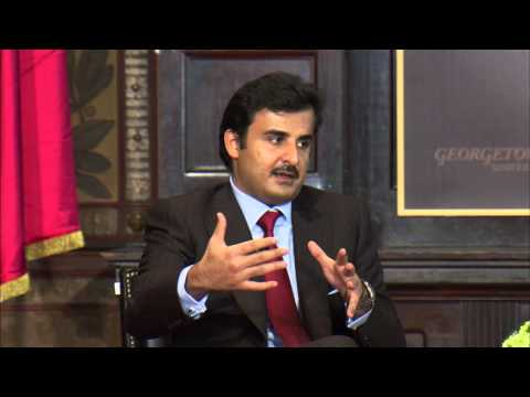 A Conversation with His Highness Sheikh Tamim Bin Hamad Al-Thani Amir of the State of Qatar