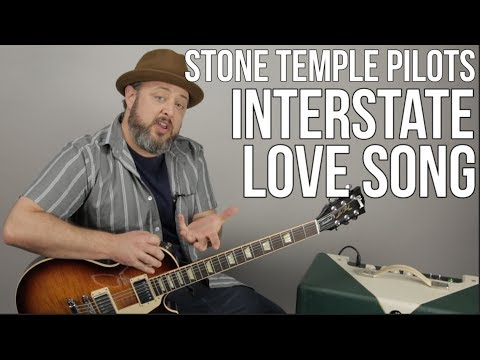 """How to Play """"Interstate Love Song"""" on Guitar by Stone Temple Pilots"""