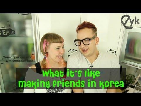 Making Friends in Korea
