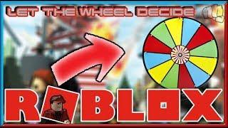 Roblox | Let the wheel decide
