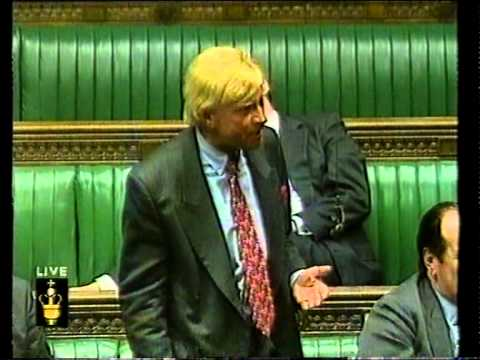 House of Commons - Deputy Speaker angry